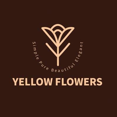 咖啡色简约风格企业形象Logo