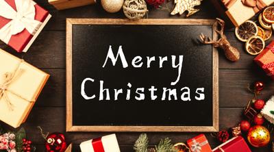 圣诞节礼物盒营销实景