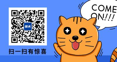 卡通猫二维码
