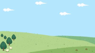 春天插画桌面壁纸