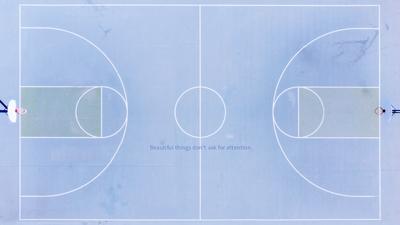 篮球场,小清新